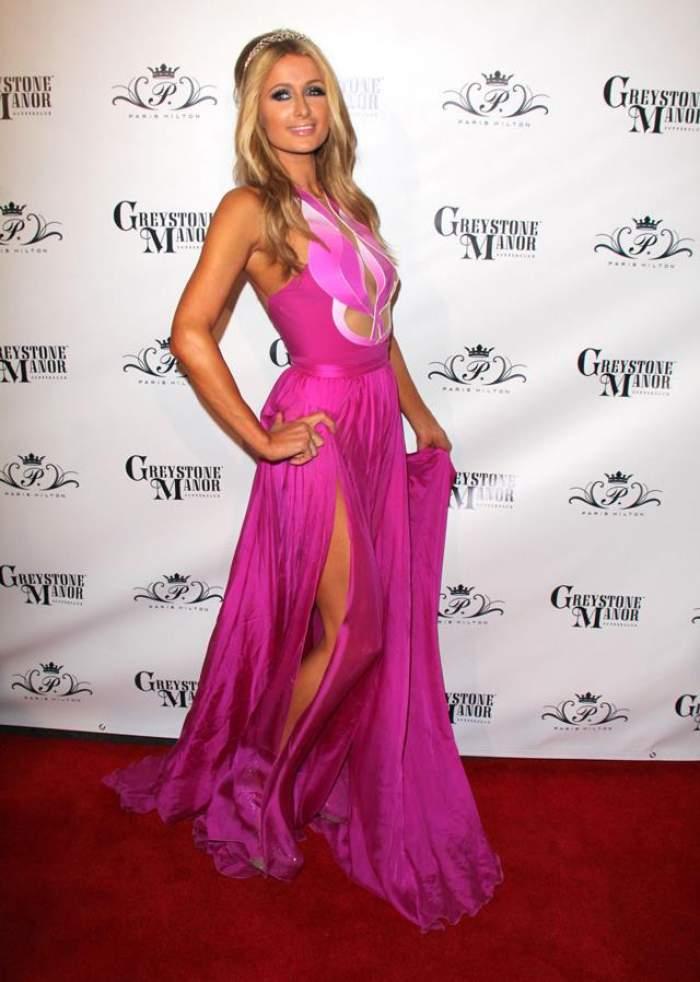 """FOTO Paris Hilton a comis-o din nou! Blondei i s-a văzut """"păsărica"""" în toată splendoarea chiar de ziua ei de naştere"""