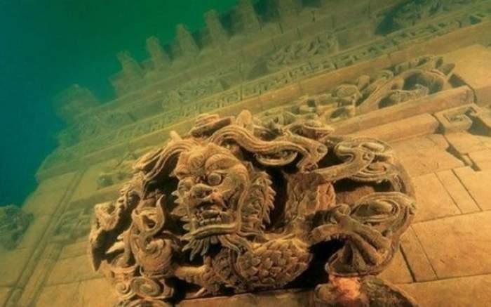 VIDEO A fost descoperită Atlantinda Chinei. Imagini ieşite din comun cu oraşul vechi de 1300 de ani aflat sub apă