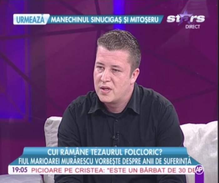 VIDEO Fiul Marioarei Murărescu, despre mama lui: ''Nu a avut niciodată parte de neîmpliniri profesionale''