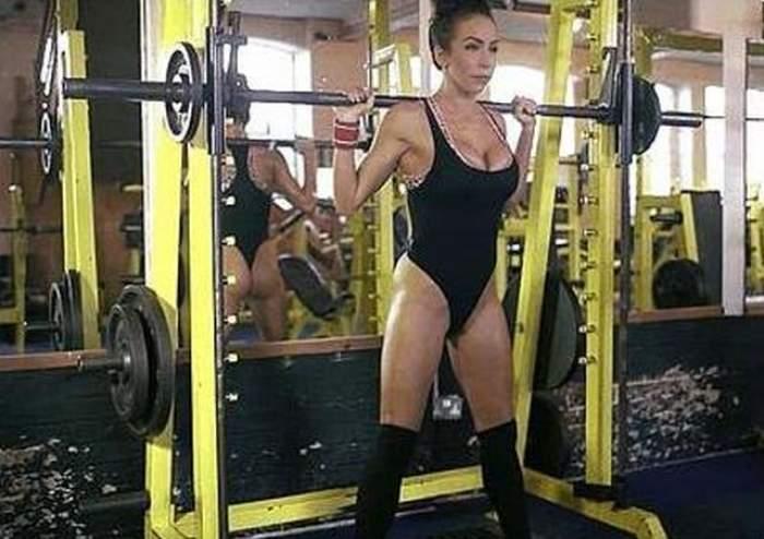 VIDEO  Fata asta le dă clasă multor bărbaţi. Are un corp de invidiat şi un chip angelic, însă uite cât efort depune pentru a arăta aşa bine
