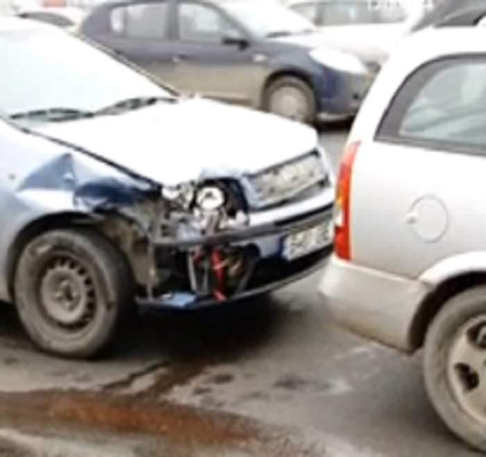 VIDEO Accidente în lanţ în Capitală! Traficul rutier este blocat pe DN 1