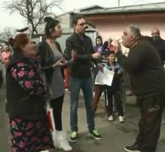 VIDEO Loredana Pastramă, scandal în stradă cu cămătarii! Cumnata lui Pepe, aproape linşată de cămătari