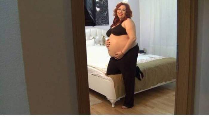 """Imaginea pe care nu o vei uita niciodată! Oana Roman a pozat în sutien, cu două zile înainte să nască: """"Nu am burtica mare! M-am menţinut în formă"""""""