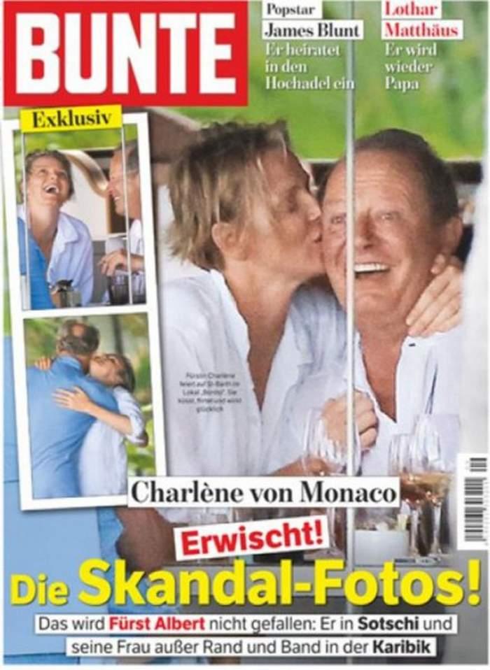 Scandal uriaş la Casa Regală! Prinţesa  Charlene îl înşeală pe prinţul Albert