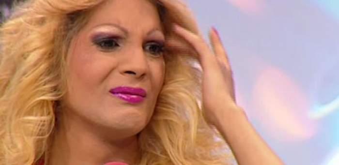 """Transsexualul Naomi, lovit unde îl doare mai tare!  A fost luat la mişto şi a început să plângă: """"Sunt o femeie sensibilă"""""""