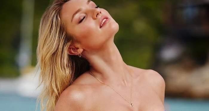 Priveşte cu atenţie! Aşa arată femeia cu trupul perfect! Cel mai sexy model a încins netul cu pozele astea