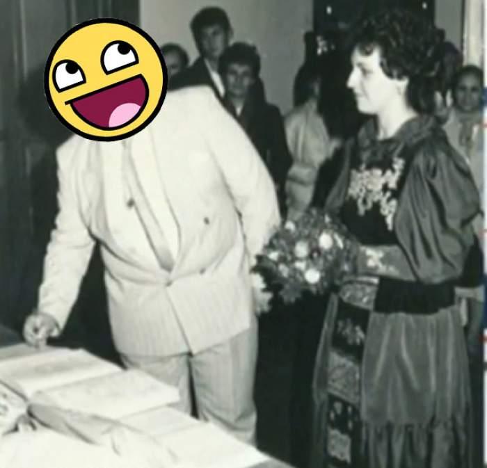 Un mire cu greutate! Vezi cine a avut nevoie de 17m de material pentru cămaşa de ginerică!!!