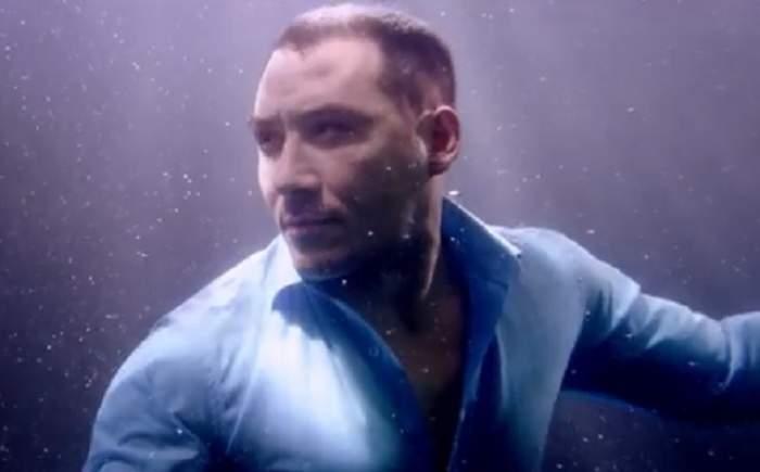 VIDEO Ştefan Stan, aşa cum nu l-ai mai văzut! Artistul a filmat un clip sub apă