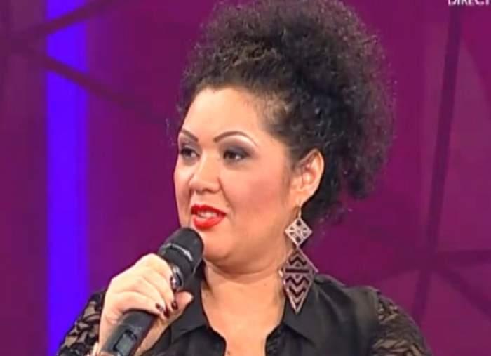 VIDEO Minodora, supărată foc pe jurnalista Monica Vlad că a făcut-o grasă! Artista îi dă replica