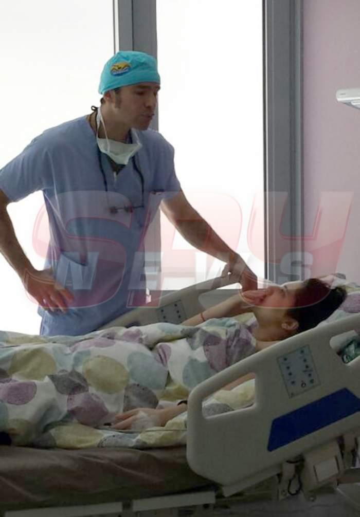 VIDEO Primele imagini după operaţie cu fata mutilată de pistolarul din Militari! Vezi ce a spus după ce i-a fost reconstruit ochiul