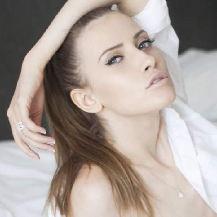 Iulia Albu, cu sfârcurile la vedere într-o emisiune TV! Vedeta o critică pe Nicoleta Luciu pentru că şi-a pus silicoane