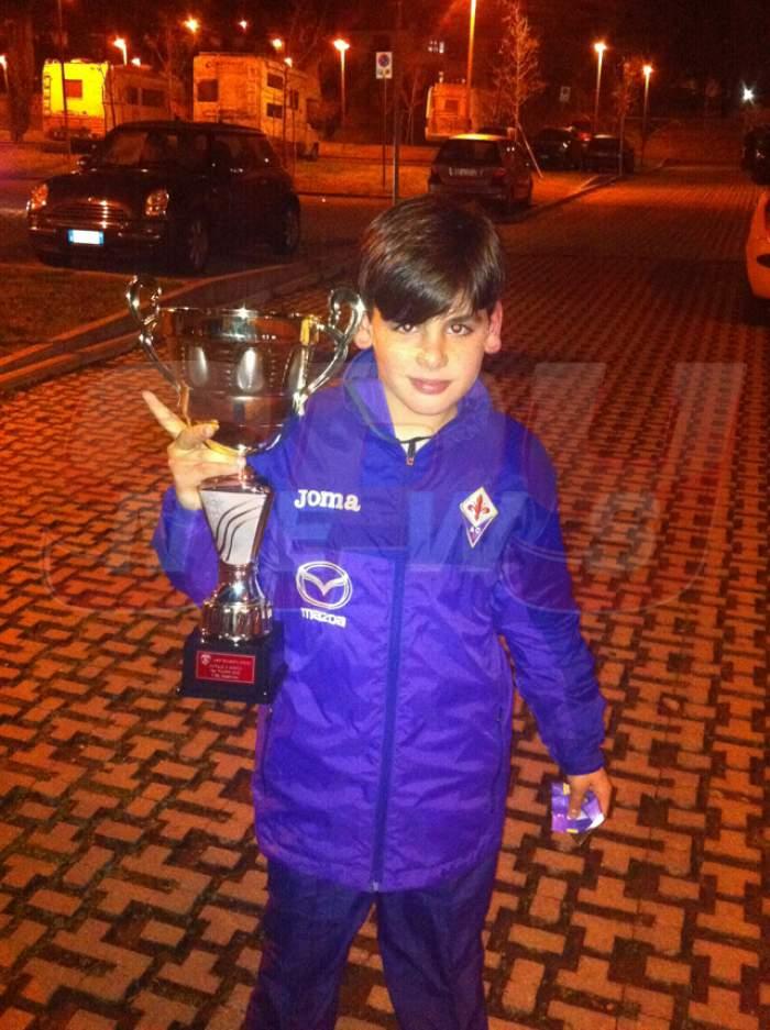 Are 11 ani, e căpitan la Fiorentina şi câştigă 500 de euro lunar. Află totul despre copilul minune, urmaşul lui Mutu!