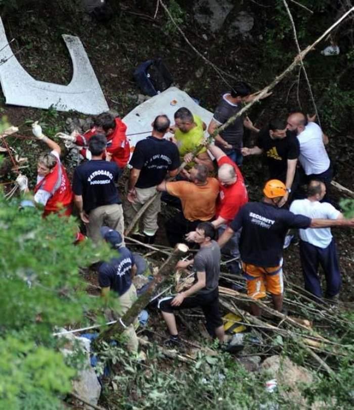 Accident rutier grav! Un autocar românesc a căzut într-o prăpastie, în Ungaria. Bilanţul e cutremurător