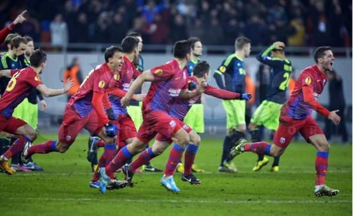 Măcel pe Naţional Arena! Steaua a dat de pământ cu Dinamo