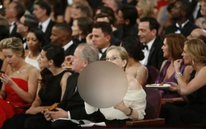 FOTO Gest incontrolabil al actriţei Meryl Streep la premiile Oscar! Audienţa a rămas cu gura căscată! Nimeni nu se gândea că o va face în public