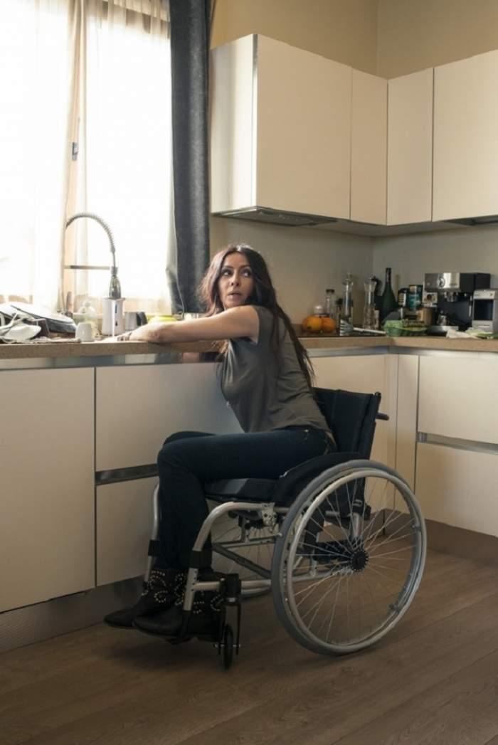 Imagini şocante! Mihaela Rădulescu a ajuns în scaun cu rotile! Vezi ce s-a întâmplat