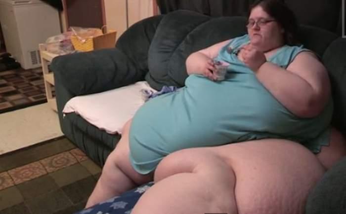 """Cea mai grasă femeie din lume e disperată! Vrea să se mărite, dar nu poate ridica din pat: """"Vreau să pot merge pe stradă!"""""""