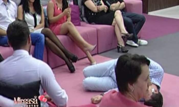 """VIDEO Clipe de tensiune la """"Mireasă pentru fiul meu""""! Certurile dintre doi concurenţi au condus la momente de grea încercare"""