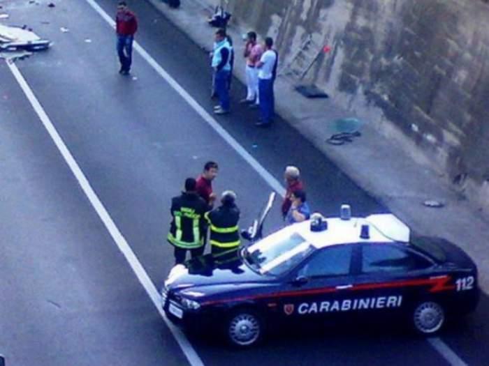 ACCIDENT MORTAL în Italia! Au fost implicaţi cinci români!