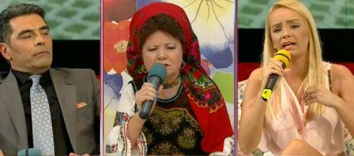 Scandal monstru la TV! Mirela Constantin şi Marcel Toader se ceartă ca la piaţă