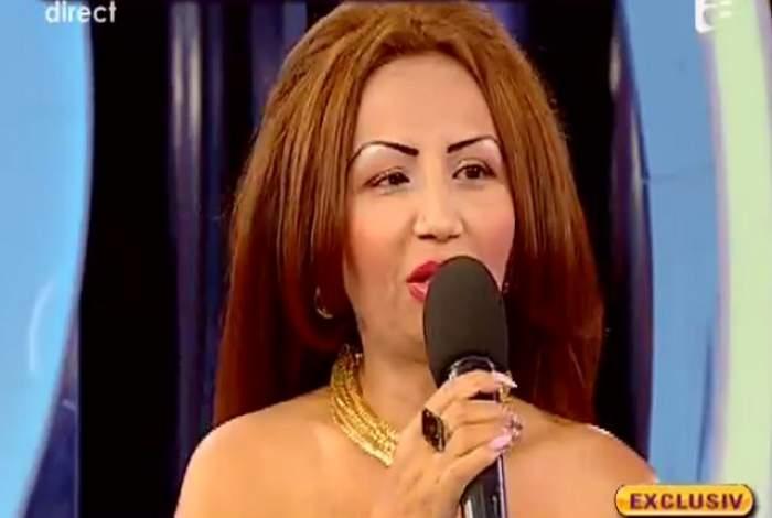 """VIDEO Narcisa Guţă a cântat în premieră, la """"Acces Direct"""", melodia compusă de De Santo!"""