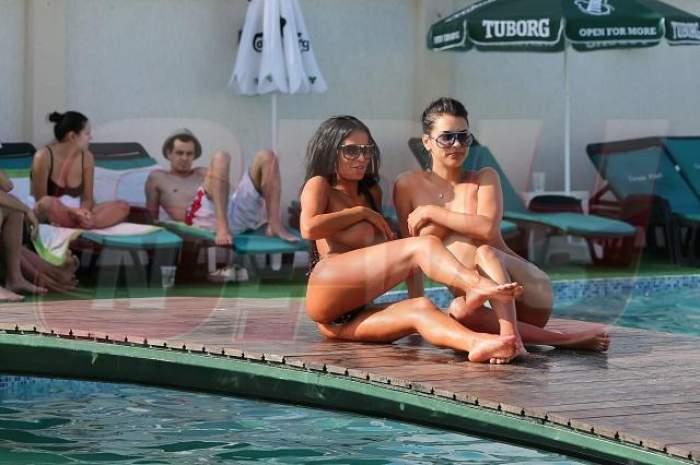 Leo o să înnebunească de tot! Renata îl va face să turbeze de gelozie după ce a făcut show XXX la piscină