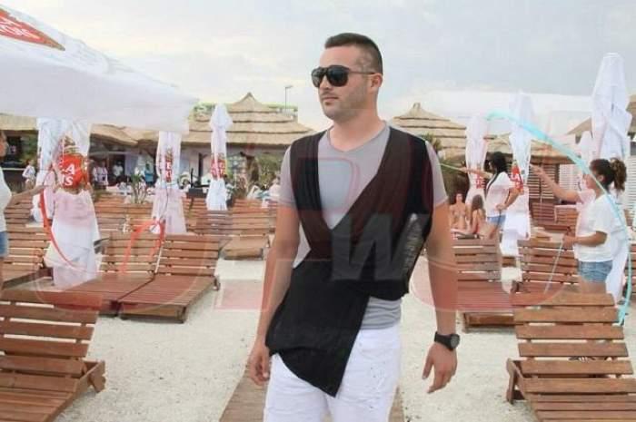 Răducu Mazăre, și designer, și model! Uite ce show a făcut pe plaja de la Mamaia