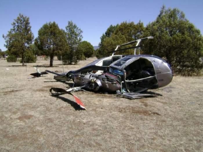 Un elicopter cu jurnalişti s-a prăbuşit în Irak! Pilotul a murit!