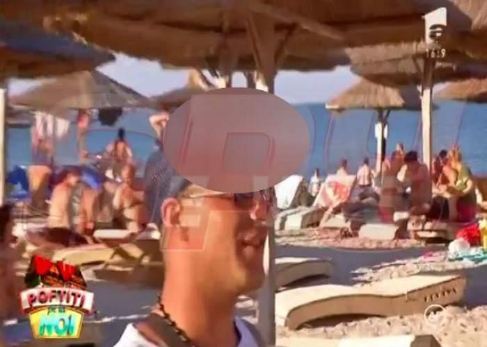 Vaaai, ce şi-a pus pe şapcă omul ăsta! Rămâi fără cuvinte când vezi cum s-a dus pe plajă în Vama Veche!