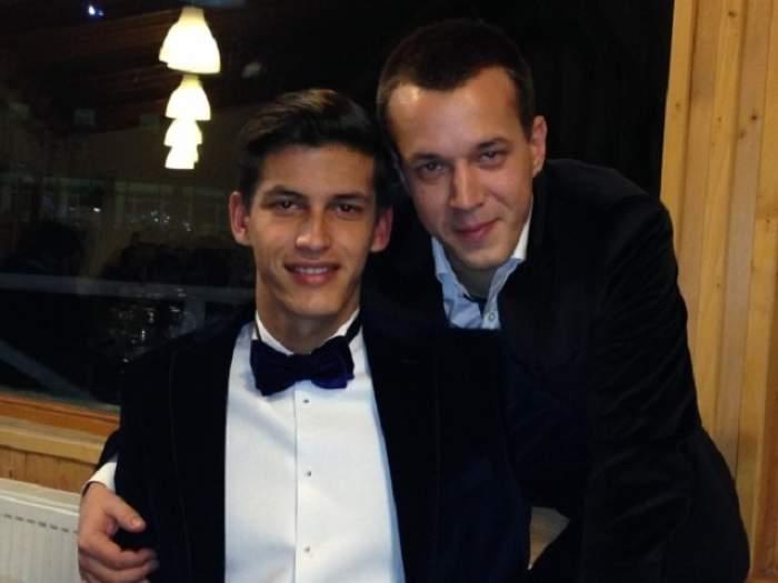 Andrei şi Mihnea s-au dus cu tort la puşcărie să-l scoată pe Adrian Năstase!