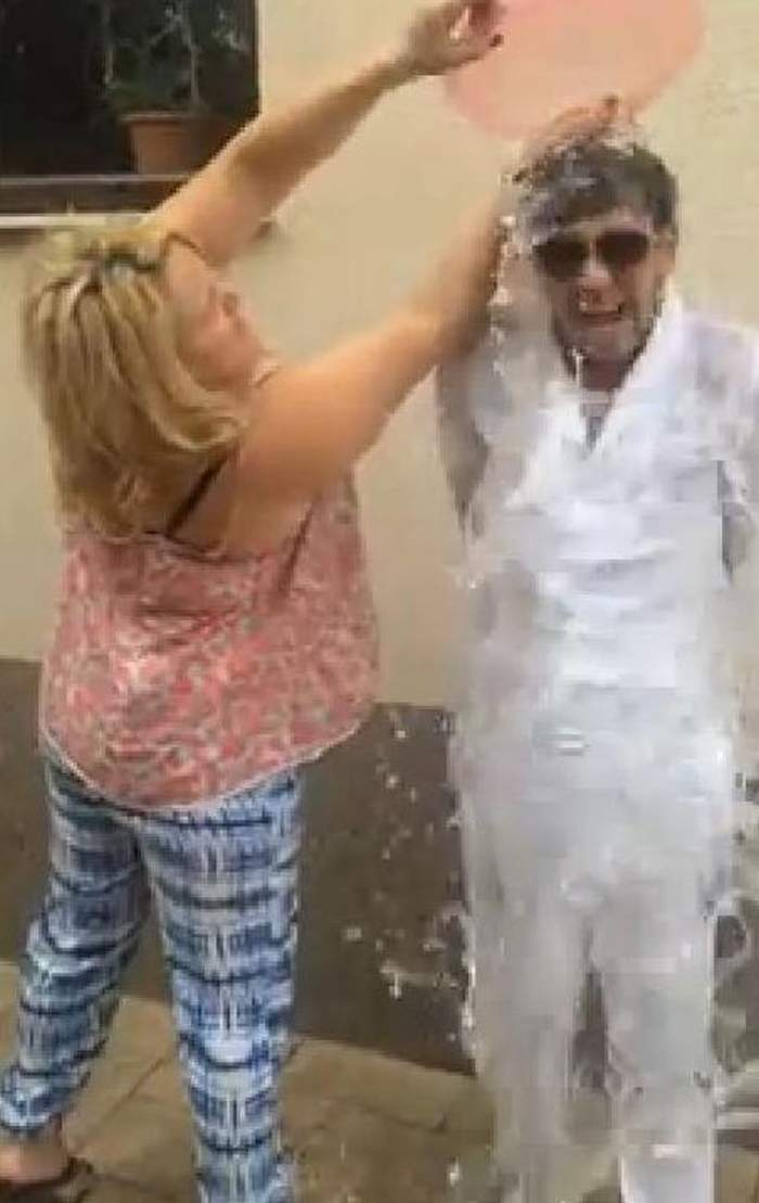 """VIDEO / Fulgy a lansat provocarea zilei! Pe cine a propus la """"Ice bucket challenge"""""""