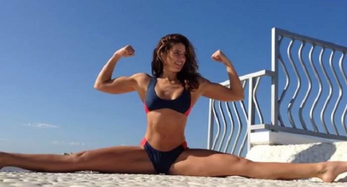 VIDEO/ Bianca Bree, cu picioarele desfăcute, imită celebrul şpagat al tatălui ei, Jean Claude Van Damme! Ce a urmat a depăşit aşteptările tuturor!