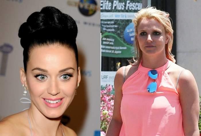Războiul divelor POP! Katy Perry a atacat-o dur pe Britney Spears