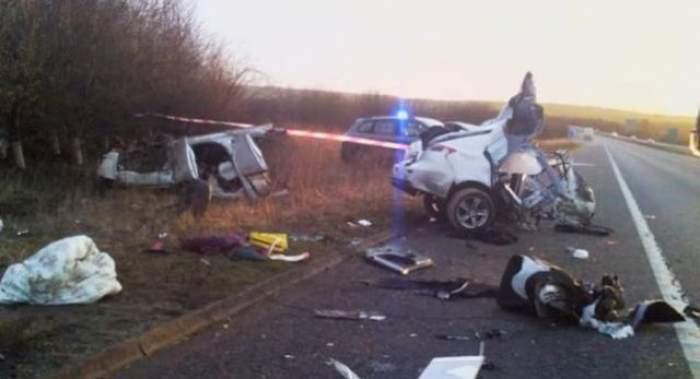 Cutremurător! O persoană a murit şi 8 au fost rănite într-un accident în drum spre mare