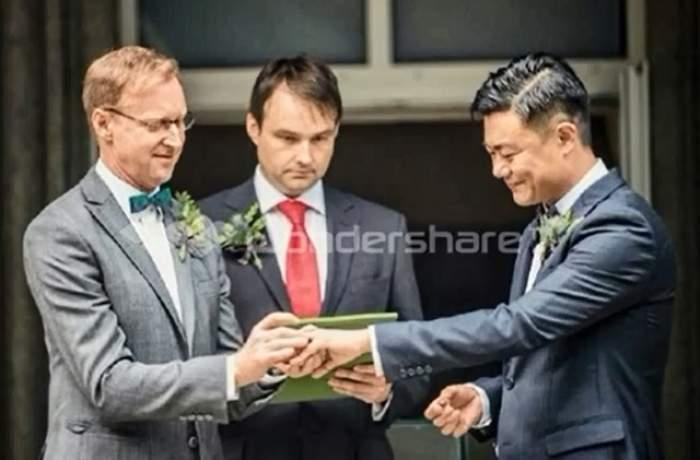 VIDEO / Căsătoria care a revoltat China! Doi gay şi-au unit destinul şi ce s-a întâmplat după a făcut ocolul internetului