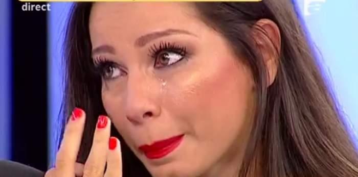 VIDEO / Iuliana Luciu, în lacrimi, în direct! A clacat din cauza tatălui alcoolic!