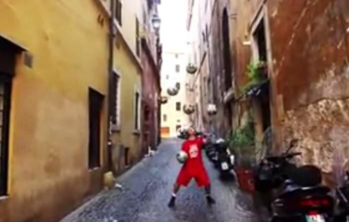 VIDEO / Vei rămâne mut de uimire când vei vedea ce pot face tinerii ăştia cu mingea! E talent pur