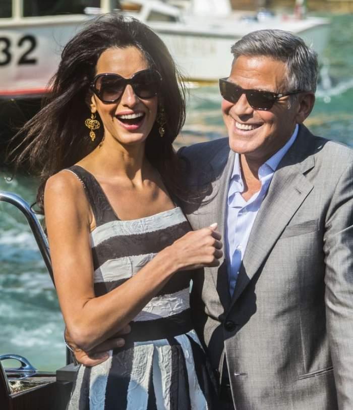 George Clooney şi Amal Alamuddin se căsătoresc, la Veneţia