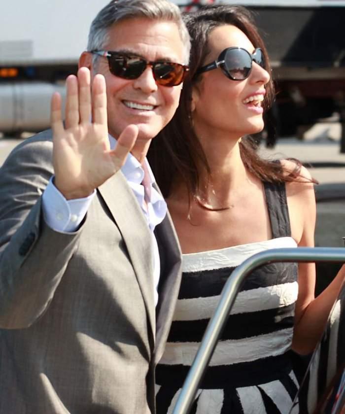 George Clooney şi Amal Alamuddin s-au căsătorit