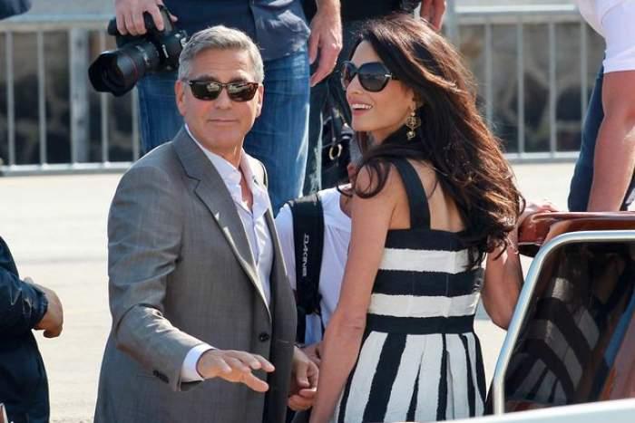 FOTO / Eleganţă şi opulenţă! Primele imagini de la nunta lui George Clooney