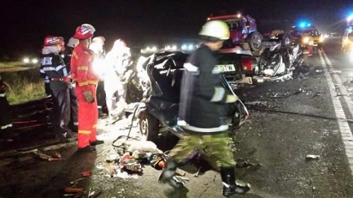 ŞOCANT Crimă pe DN1! Şoferul kamikaze a dansat pe mese cu o seară înainte să ia viaţa a cinci oameni/VIDEO