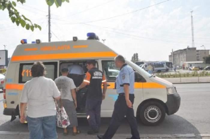 Scandal la Constanța! Mai multe persoane s-au bătut cu bâte şi furci în gară