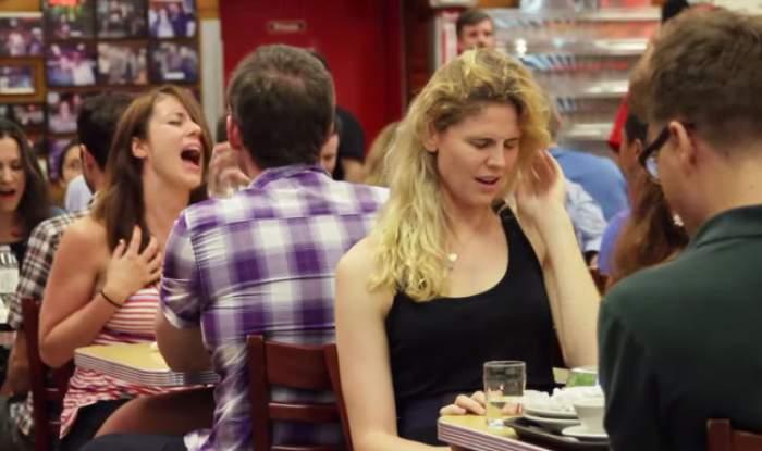 VIDEO /  20 de femei au avut ORGASM intens în văzul tuturor! Iată cum au reacţionat bărbaţii