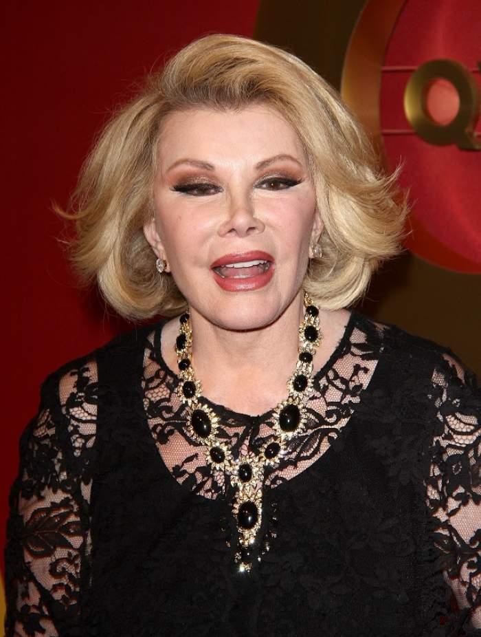 A murit vedeta TV Joan Rivers!