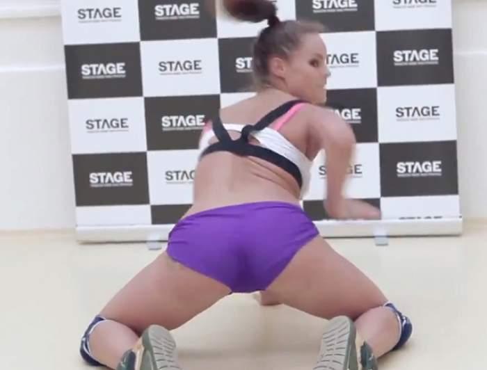 VIDEO/ O lecţie de dans cât o partidă de...sex! După ce o să vezi imaginile, o să vrei şi tu la sală