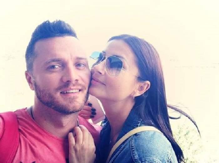 S-au căsătorit? Gabriela Cristea şi Tavi Clonda, în faţa altarului