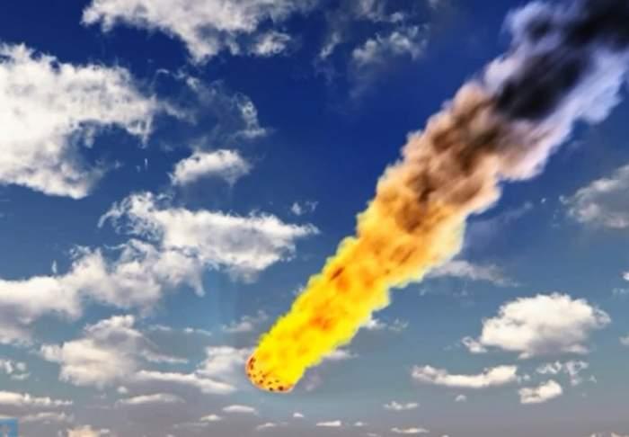VIDEO / O bucată din asteroidul care a trecut pe lângă noi a lovit Pământul!