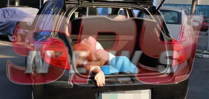 VIDEO SPYNEWS face lumină în cazul poliţistei găsite în portbagajul propriei maşini!