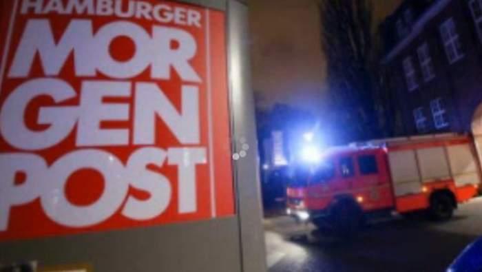 VIDEO / Panică în Germania! Incendiu la sediul unei publicaţii care a publicat caricaturi din CHARLIE HEBDO