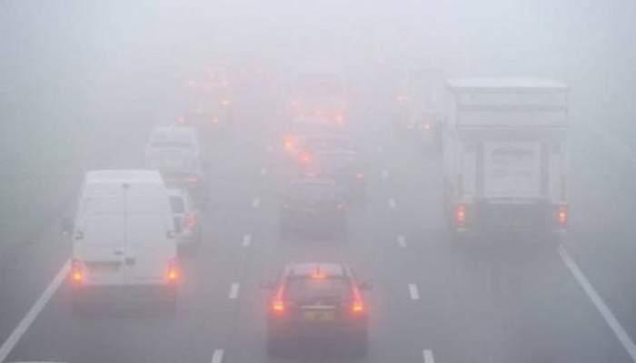 COD GALBEN de ceaţă! ATENŢIE dacă porniţi la drum!